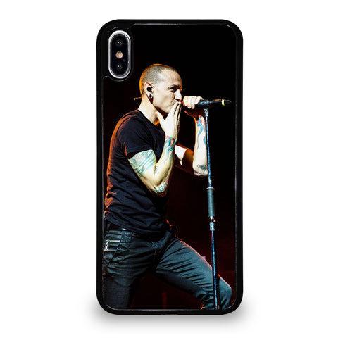 CHESTER BENNINGTON KISS BYE iPhone XS Max Case