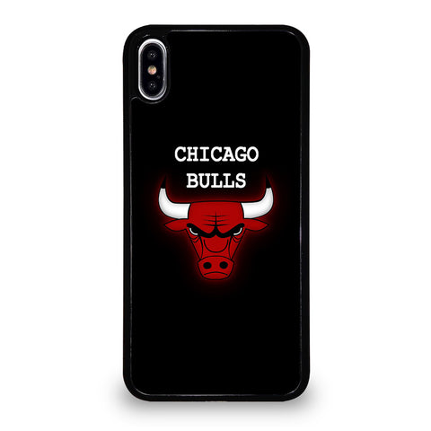 CHICAGO BULLS LOGO NBA iPhone XS Max Case