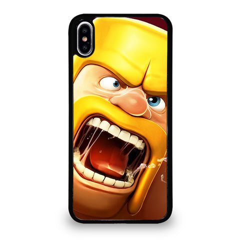 CLASH OF CLANS BARBARIAN iPhone XS Max Case