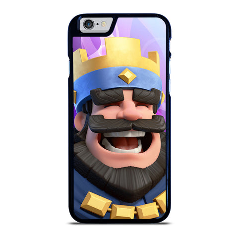 CLASH ROYAL KING SMILING iPhone 6 / 6S Case