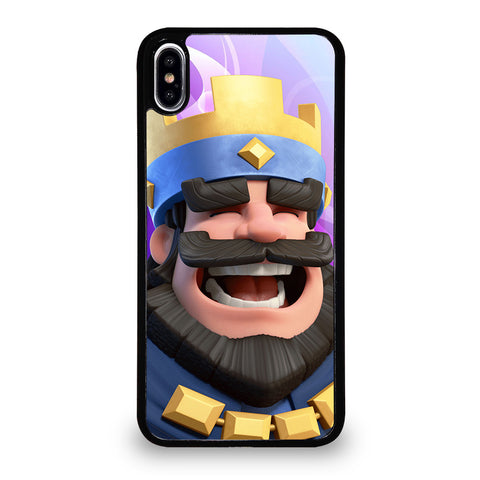 CLASH ROYAL KING SMILING iPhone XS Max Case