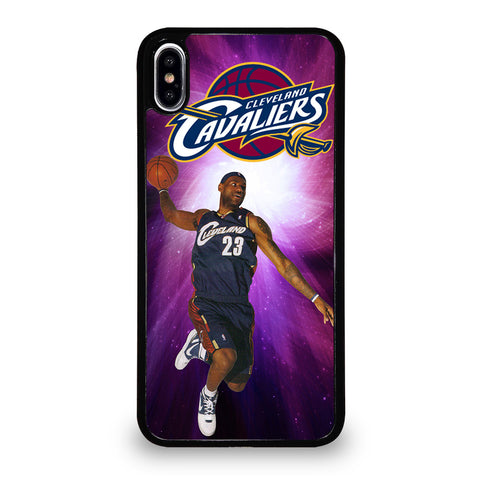 CLEVELAND CAVALIERS KING JAMES iPhone XS Max Case