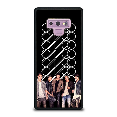 CNCO Group in Action Samsung Galaxy Note 9 Case