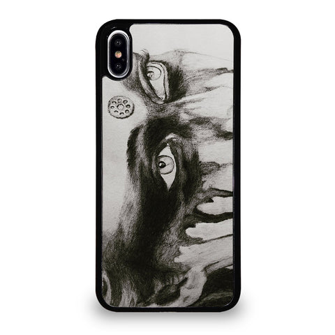 COMMANDER LEXA THE 100 EYES iPhone XS Max Case