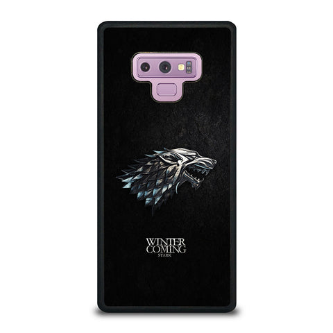 Cool Game Of Thrones House Stark Samsung Galaxy Note 9 Case