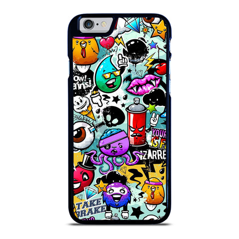 Cute Graffiti Image iPhone 6 / 6S Case