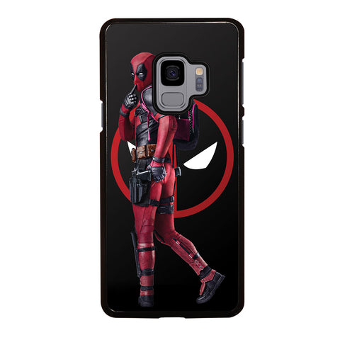 DEADPOOL WITH THE SYMBOLS Samsung Galaxy S9 Case