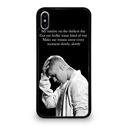 DESPACITO JUSTIN BIBER LIRYCS iPhone XS Max Case