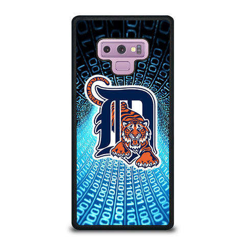 DETROIT TIGERS ART Samsung Galaxy Note 9 Case