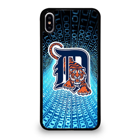 DETROIT TIGERS ART iPhone XS Max Case