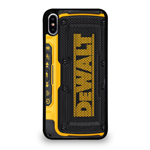 DEWALT JOBSITE AUDIO iPhone XS Max Case