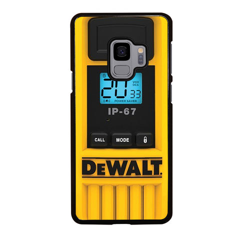DEWALT WALKIE TALKIE Samsung Galaxy S9 Case