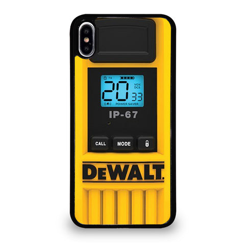 DEWALT WALKIE TALKIE iPhone XS Max Case