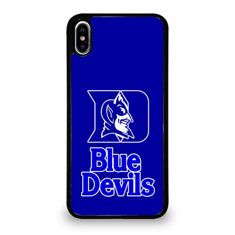 Duke Blue Devils Logo iPhone XS Max Case