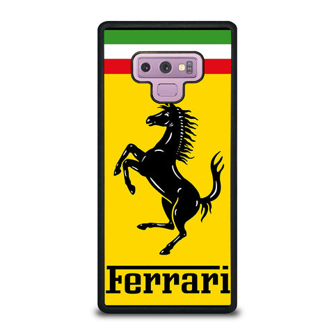 FERRARI LOGO Samsung Galaxy Note 9 Case