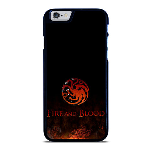 FIRED FIRE AND BLOOD iPhone 6 / 6S Case