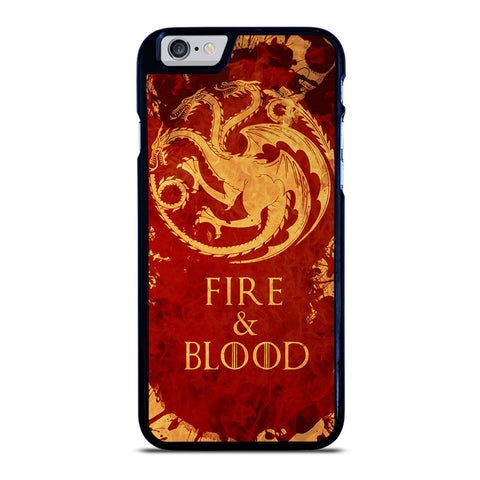 FIRE & BLOOD iPhone 6 / 6S Case
