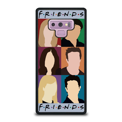 FRIENDS TV SHOW CHARACTERS Samsung Galaxy Note 9 Case