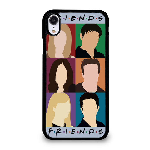 FRIENDS TV SHOW CHARACTERS iPhone XR Case