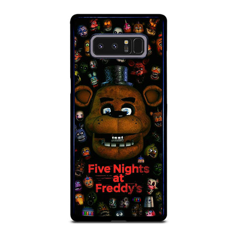 Five Nights At Freddy's Poster Samsung Galaxy Note 8 Case
