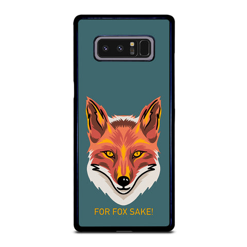 For Fox Sake Samsung Galaxy Note 8 Case
