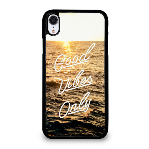 GOOD VIBES ONLY iPhone XR Case