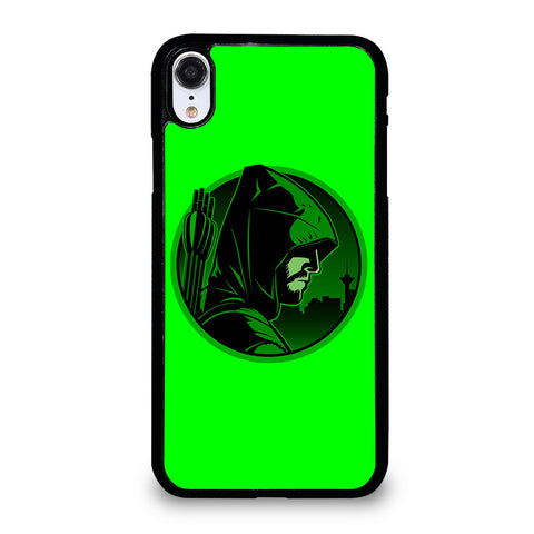 GREEN ARROW PICTURE iPhone XR Case