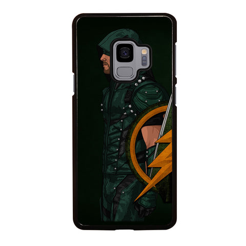 GREEN ARROW SIDE Samsung Galaxy S9 Case
