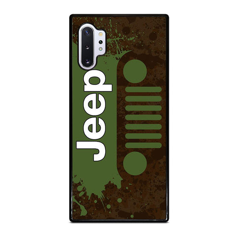GREEN JEEP WRANGLER Samsung Galaxy Note 10 Plus Case Cover