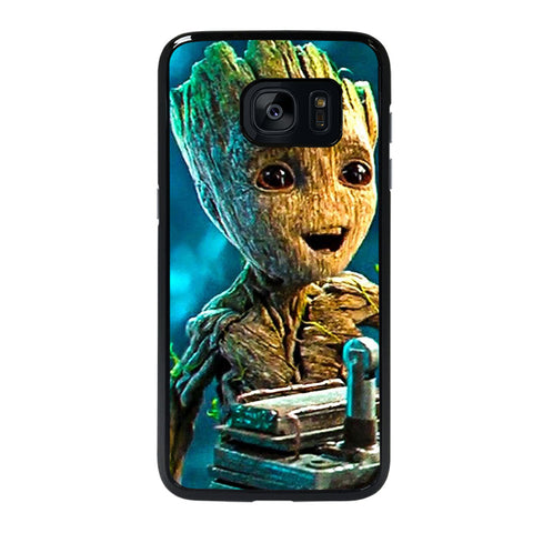 GUARDIANS OF THE GALAXY BABY GROOT Samsung Galaxy S7 Edge Case