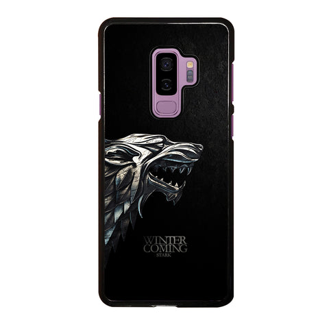 Game Of Thrones House Stark Winter Samsung Galaxy S9 Plus Case
