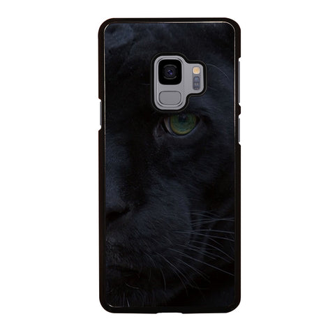 HALF FACE BLACK PANTHER Samsung Galaxy S9 Case