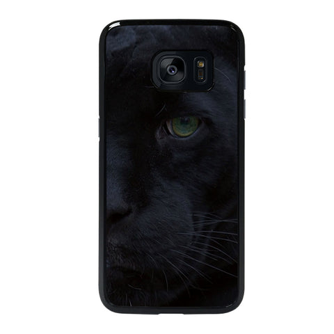 HALF FACE BLACK PANTHER Samsung Galaxy S7 Edge Case
