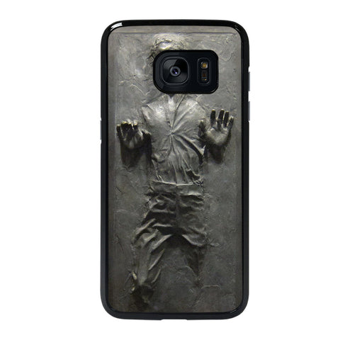 HANS SOLO STAR WARS FROZEN Samsung Galaxy S7 Edge Case