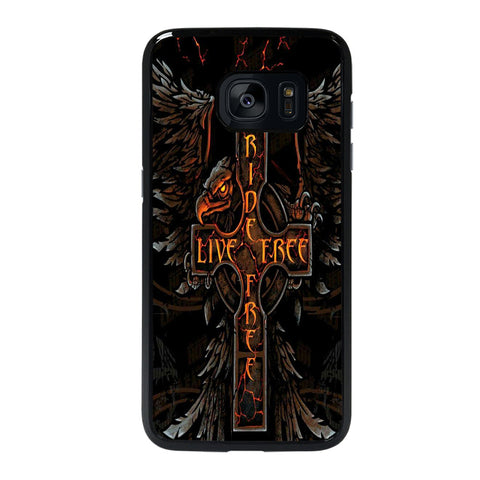 HARLEY RIDE LIVE FREE Samsung Galaxy S7 Edge Case