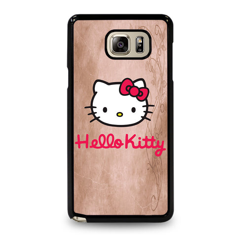 HELLO KITTY FACE Samsung Galaxy Note 5 Case