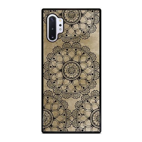 HENNA MANDALA DESIGN Samsung Galaxy Note 10 Plus Case Cover