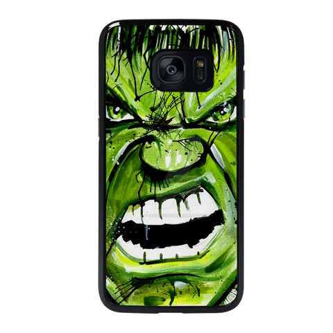 Hulk Comic Face Samsung Galaxy S7 Edge Case