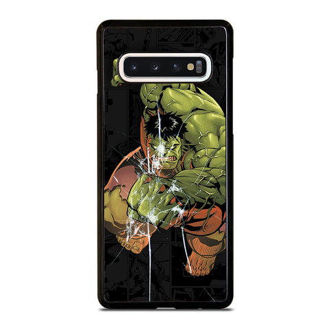 Hulk Comic In Action Samsung Galaxy S10 Case