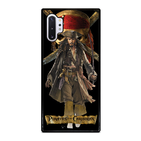 JACK PIRATES OF THE CARIBBEAN Samsung Galaxy Note 10 Plus Case Cover