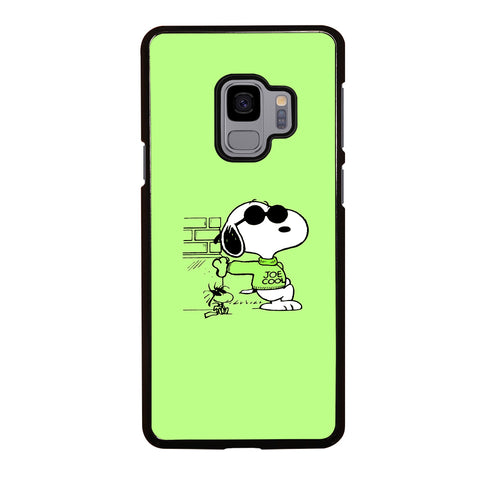 Joe Cool Snoopy Dog Samsung Galaxy S9 Case