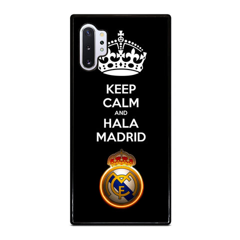 KEEP CALM AND HALA MADRID Samsung Galaxy Note 10 Plus Case Cover