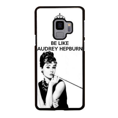 KEEP CALM AUDREY HEPBURN Samsung Galaxy S9 Case