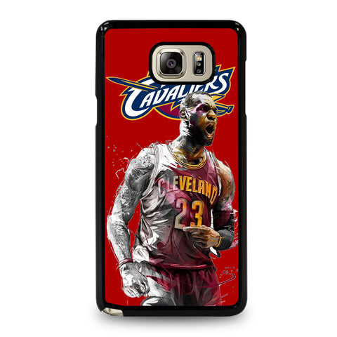 LEBRON JAMES CLEVELAND CAVALIERS Samsung Galaxy Note 5 Case