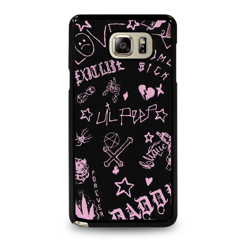 LIL PEEP TATTOO CONCEPT Samsung Galaxy Note 5 Case