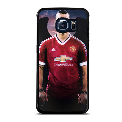 MANCHESTER UNITED IBRAHIMOVIC DEVIL Samsung Galaxy S6 Edge Case