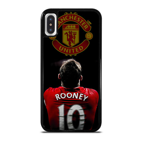MANCHESTER UNITED WAYNE ROONEY iPhone X / XS Case