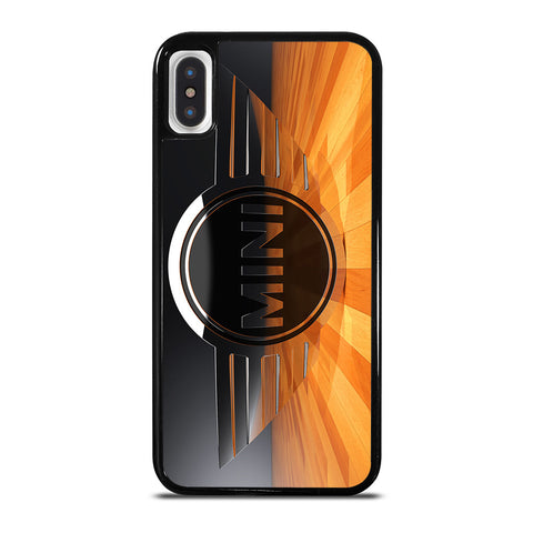 MINI COOPER LOGO CLASSIC iPhone X / XS Case
