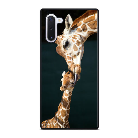 MOM TOUCHES BABY GIRAFFE Samsung Galaxy Note 10 Case