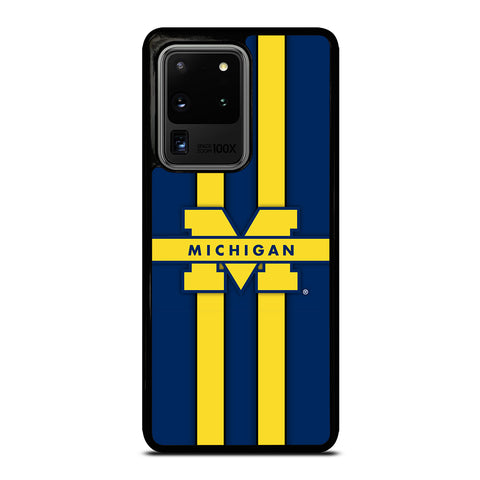 Michigan Wolverines Logo Samsung Galaxy S20 Ultra / S20 Ultra 5G Case